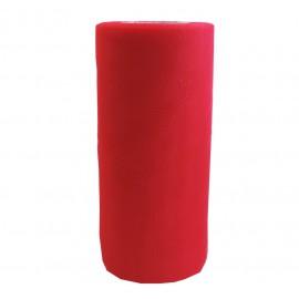 Rollo Tull ↕ 15 cm x 25y Rojo