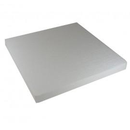 Base Cuadrada 40 cm Blanco Poliespan
