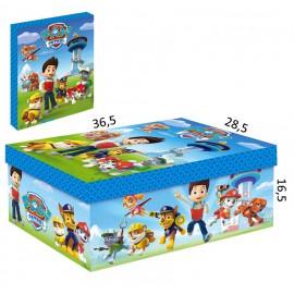 Caja Carton Patrulla Canina 36,5x28.5 cm