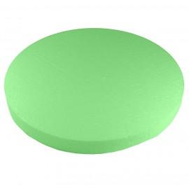 Base Redonda Ø40 cm Verde Poliespan