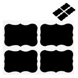 12 Pizarras Adhesivas Clasica 5x3,5