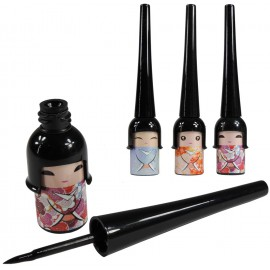 Delineador Ojos Liquido Geisha Negro