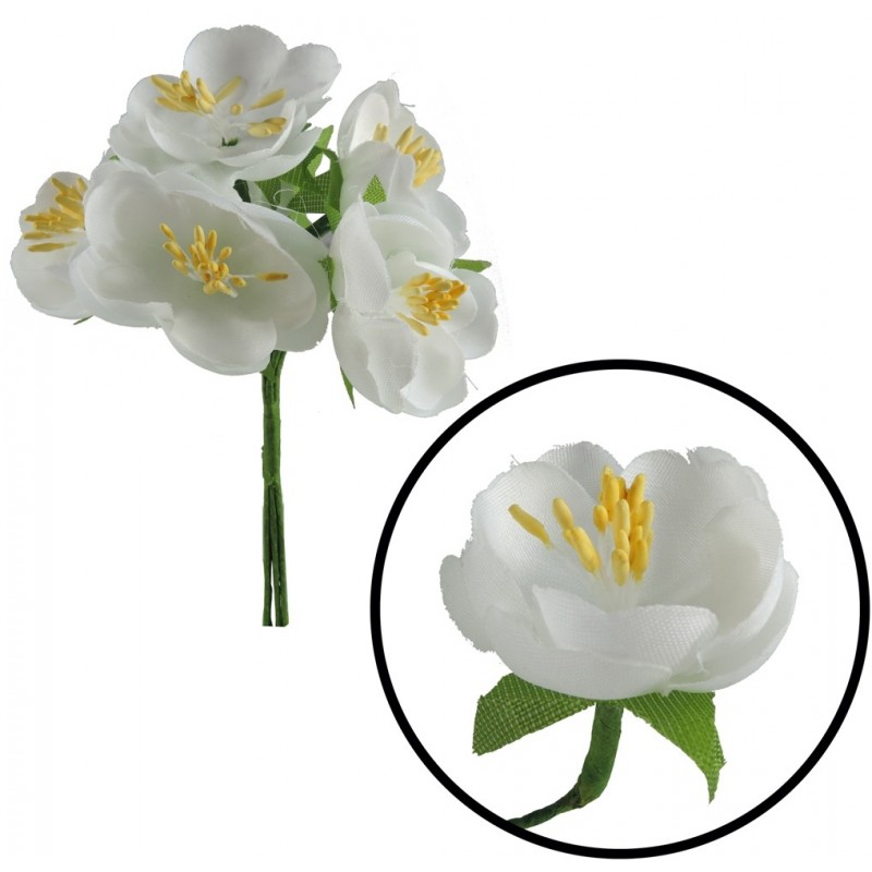 Mini Ramillete Flor Cerezo (6 ud)
