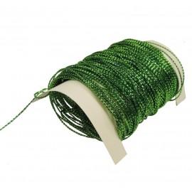 Hilo Metalico para Tarjetas 25y Verde