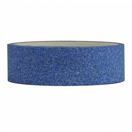 Tape Purpurina 3mts x 15mm Azul