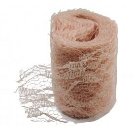 Rollo Encaje Tull 10y x ↕ 5 cm Salmon
