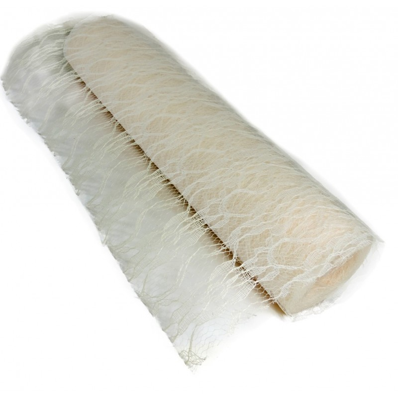 Rollo Encaje Tull ↕ 30 cm x 10y Beige