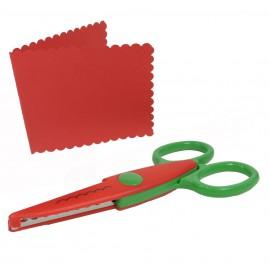 Tijera Corte Formas Verde / Rojo