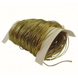 Hilo Metalico para Tarjetas 25y Oro