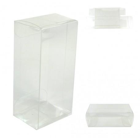 Cajita PVC Transparente ↕8,2 x 4 x 3 cm