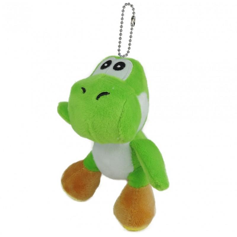 Yoshi Peluche Llavero 12 cm Verde