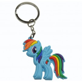 Llavero de Goma Little Pony Raibon Dash