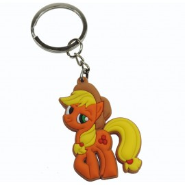 Llavero de Goma Little Pony AppleJack