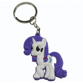 Llavero de Goma Little Pony Rarity