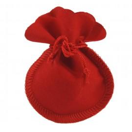 Bolsita Terciopelo Rojo ↕ 8 cm
