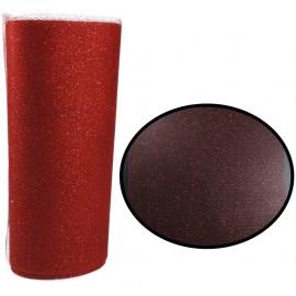 Rollo Tull Brillo Rojo ↕ 15 cm