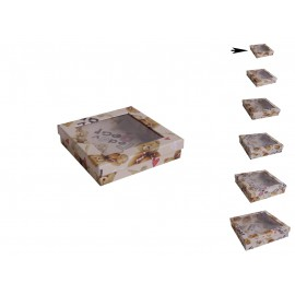 Cajita Transparente Osito ↕4,5 x ↔19