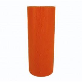Rollo Tull ↕ 15 cm x 25 mt Naranja