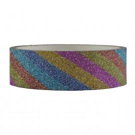 Tape Brillo Arcoiris ↕ 1,5 cm