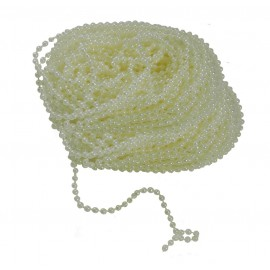 Guirnalda Perlas 3mm Beige (10 mts)