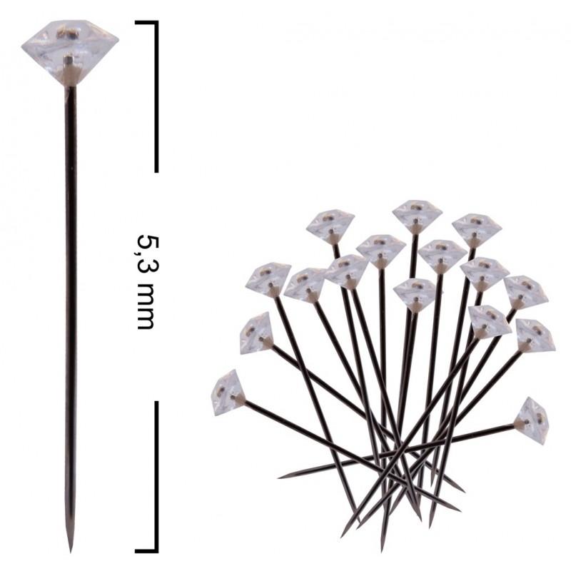 Alfiler Diamante 53 mm (50 ud)