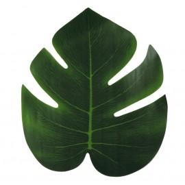 Hoja Palmera Tropical 20x18 Verde