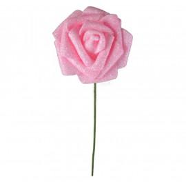 Rosa Brillo Purpurina Ø 6cm Rosa