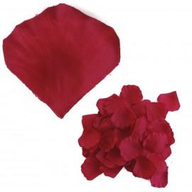 Petalo Rosa Artificial Rojo Oscuro (100ud)