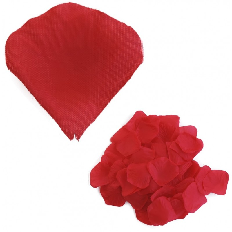 Petalo Rosa Artificial Rojo (100ud)