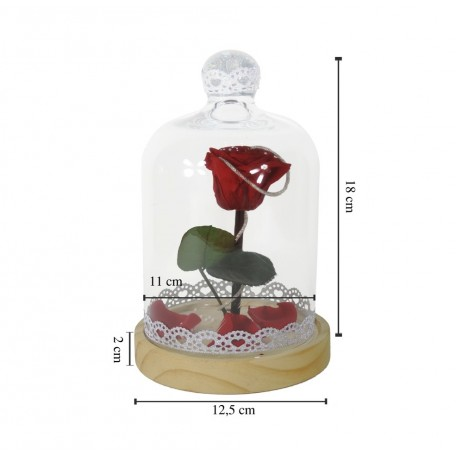 Cúpula con la Rosa Eterna Adornada
