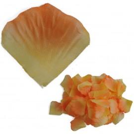 Petalo Rosa Artificial Naranja (100ud)