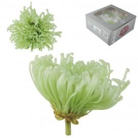 Anastasia Crisantemo Verde Menta Ø 7 cm (4ud)