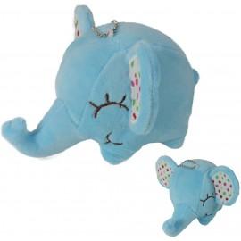 Peluche Elefante Celeste ↕ 7,5 cm