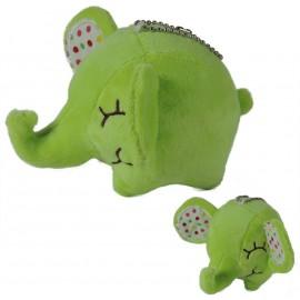 Peluche Elefante Verde ↕ 7,5 cm