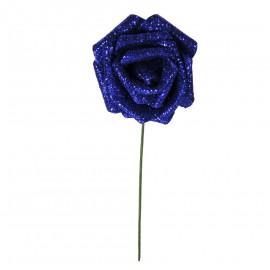 Rosa Brillo Purpurina Ø 6cm Azul