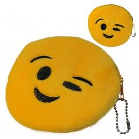 Monedero Emoji Guiño Ø11