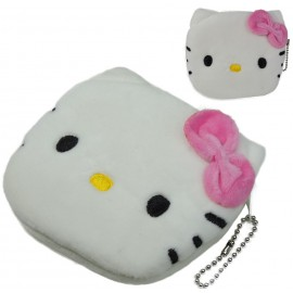 Monedero Hello Kitty Blanca Ø11