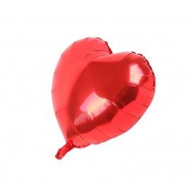 Globo Corazon Rojo Ø43 cm Foil