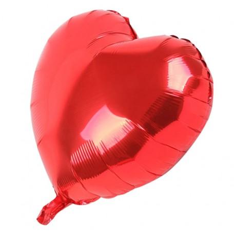 Globo Corazon Rojo Ø75 cm Foil