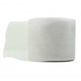 Cinta Yute Pile ↕ 6 cm x 10mt Blanco