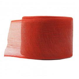 Cinta Yute Pile ↕ 6 cm x 10mt Rojo