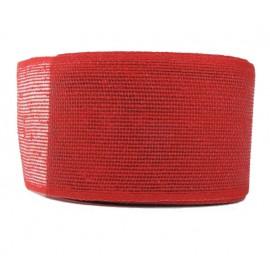 Cinta Yute Coto ↕ 7 cm x 15mt Rojo