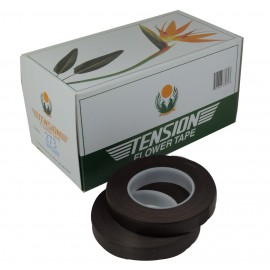 Floral Tape Tension Marron 2(ud)