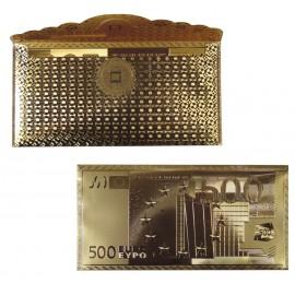 Billetero Boda Dorado 500€