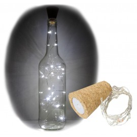 Led 15 luces para Cupulas o Botellas c/Pilas
