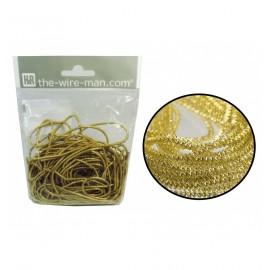 Espiralina Mediana oro (5 uds)
