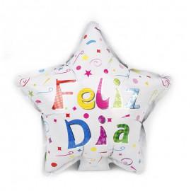 "Globo ""Feliz Dia"" Estrella 10'' Foil"