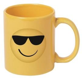 Taza Emoji Gafas