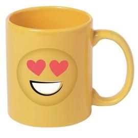 Taza Emoji Corazon