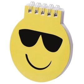 Libreta Notas Emoji Gafas